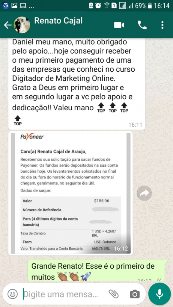 digitador de marketing online resultados